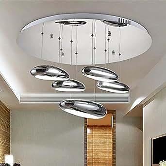 lampade da soffitto 5 luce semplici moderno artistico: Amazon.it: Illuminazione
