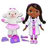Doc McStuffins Interactive Talking Doll with Lambie