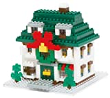 ナノブロック クリスマスハウス2012