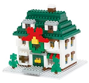 nanoblock クリスマスハウス2012