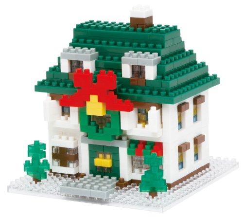 KAWADA NanoBlock Chiristmas House NBH-034Xmas 2012