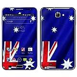 """atFoliX Designfolie """"Australien Flagge"""" f�r Samsung Galaxy Note (GT-N7000) - ohne Displayschutzfolievon """"Designfolien@FoliX"""""""