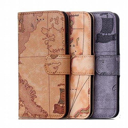 こんなiPhoneケースもあったのか‥‥世界地図、江戸古地図、路線図、航海図など地図柄のiPhoneケース