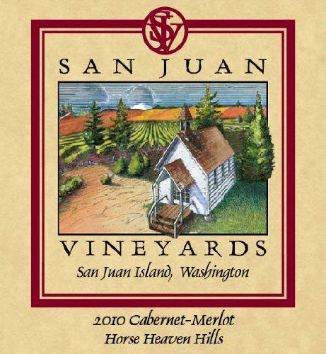 2010 San Juan Vineyards Cabernet-Merlot Horse Heaven Hills 750 Ml
