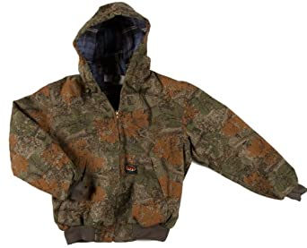 Rasco Fire Retardant CAMO Insulated Hooded Jacket, SM-Reg