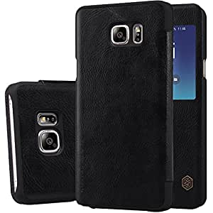Nillkin Cell Phone Case for Samsung Galaxy Note 5 - Retail Packaging - Black