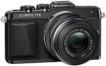 """Olympus E-PL7 Appareil photo numérique hybride 16 Mpix - Écran Tactile 3"""" Pivotable 180° - Kit Boîtier + Objectif 14-42 mm - Noir"""