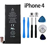 Replacement iPhone 4 4G Battery. Brand New Internal Battery (Including free tool kit)