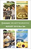 Harlequin Heartwarming August 2015 - Box Set: Time for Love\Molly's Garden\Two-Part Harmony\Promises to Keep