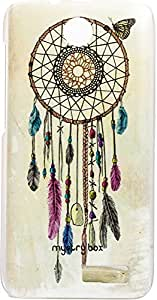 Purple Eyes Exclusive Designer Printed Back Cover for Lenovo A526 (Dream catcher)