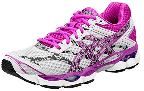 ASICS Women's Gel-Cumulus 16 Lite-Show Running Shoe,Lightning/Purple/Black,11.5 M US