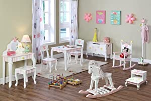 Crown Rocker - Princess Frog Collection by Teamson