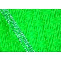 FOUR-C Baking Tools Labyrinth Textured Rolling Pin Fondant Tools Color Transparent