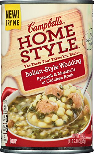 Campbell's Homestyle Soup, Italian-Style Wedding, 18.4 Ounce (Pack of 12) (Chicken Pasta Re compare prices)