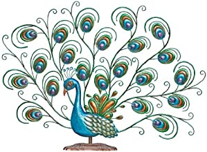 Regal Art amp Gift Pretty Peacock Decor Discontinued by Manufacturer