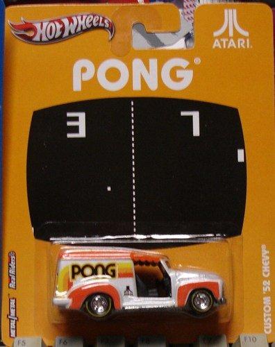 Hot Wheels Atari Pong Custom '52 Chevy Die-cast
