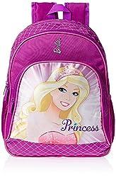 Baby Bucket Genius Xplore Max Steel Senior Plus School Bag (Purple)