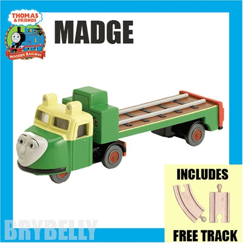 Madge with free track from Thomas the Tank Engine & Friends Wooden Railway Train System - Buy Madge with free track from Thomas the Tank Engine & Friends Wooden Railway Train System - Purchase Madge with free track from Thomas the Tank Engine & Friends Wooden Railway Train System (Brybelly.com, Toys & Games,Categories,Play Vehicles,Trains & Railway Sets)