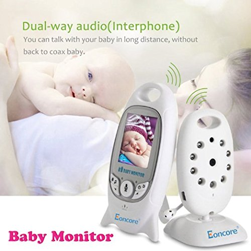 eoncore wireless security video baby monitor vb601 night vision temperature. Black Bedroom Furniture Sets. Home Design Ideas