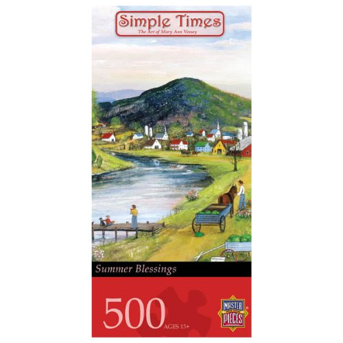 Master Pieces Simple Times Summer Blessings Jigsaw Puzzle
