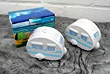 Ceramic Caravan Salt & Pepper Set - Blue