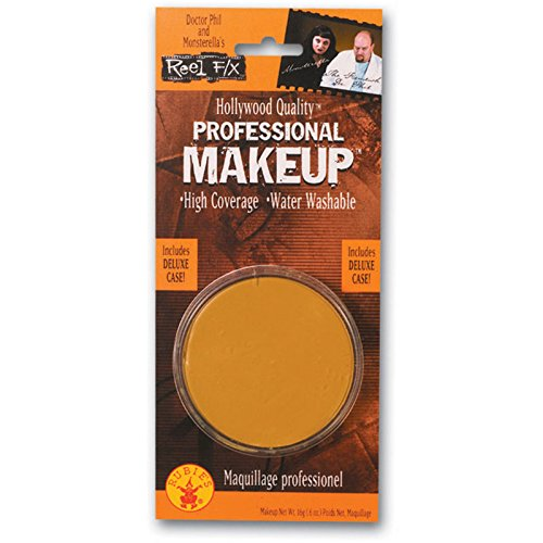 Reel F/X Hollywood Quality Professional Makeup Large Gold Makeup Pot Costume Makeup