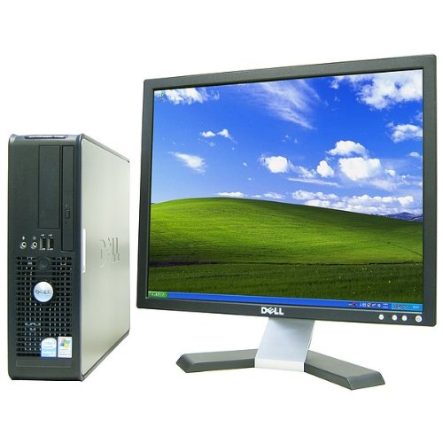"Dell Optiplex 745 Pentium D 3400 Mhz 80Gig Serial Ata Hdd 1024Mb Ddr2 Memory Dvd-Rw Genuine Windows 7 Professional 32 Bit + 19"" Flat Panel Lcd Monitor Desktop Pc Computer Professionally Refurbished By A Microsoft Authorized Refurbisher"
