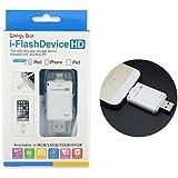 I-flash drive otg clef usb pour iphone 5s / iphone 6 / iphone 6 plus /iphone6s/iphone6s plus/ ipad l'ajout de stockage supplémentaire facile d'enregistrer l'image / video -16 gb -White