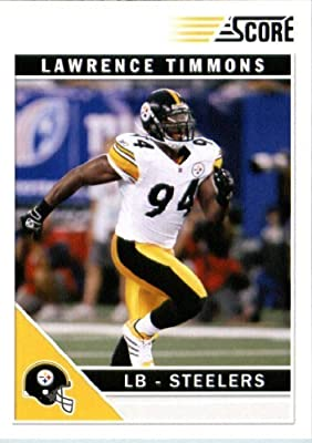 2011 Score Football Card #233 Lawrence Timmons - Pittsburgh Steelers - NFL Trading Card