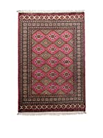 Navaei & Co. Alfombra Kashmir Rojo/Multicolor 197 x 124 cm