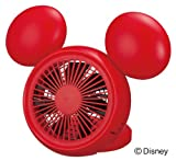 Disney Mickey Table FAN with Aroma (USB, AC, Battery) NPM-1084U(RD)