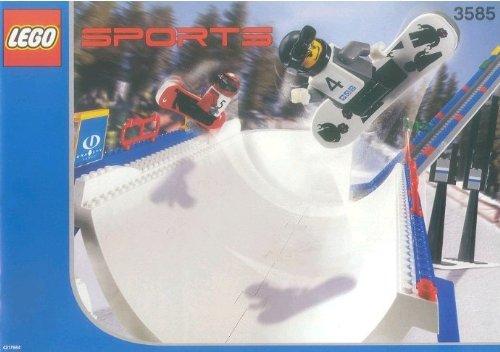 LEGO Snowboard Super Pipe Set 3585 jetzt bestellen