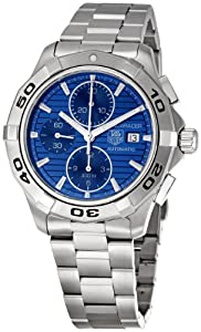 TAG Heuer Men's CAP2112.BA0833 Aquaracer Chronograph Watch by TAG Heuer