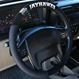 NCAA Kansas Jayhawks Poly-Suede Steering Wheel Cover
