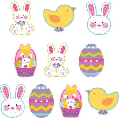 cutouts mini printed easter