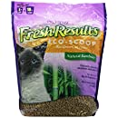 Pro-Sense Fresh Results Eco-Scoop Bamboo Cat Litter, 8-Pound (FR-83176)