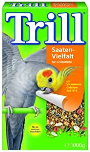 Trill Saaten-Vielfalt fr Grosittiche, 2er Pack (2 x 1 kg)