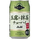 アサヒ お茶酎 玉露と抹茶チューハイ340ml×24本