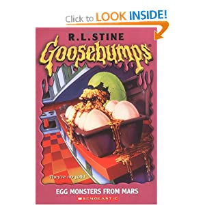 Goosebumps: Egg Monsters from Mars: R L Stine ...