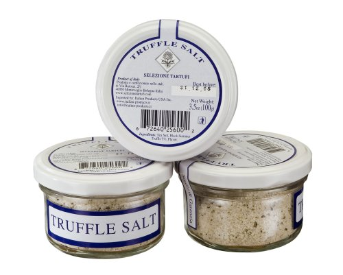 Italian Products Black Truffle Salt 10%, 3.6-Ounce Unit