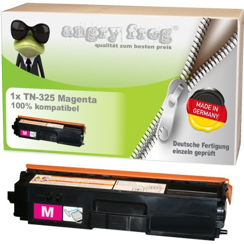 Magenta Toner made in Germany ersetzt BROTHER TN325 BK/ C/ M/ Y - für BROTHER DCP 9055 CDN, DCP 9270 CDN, HL 4140 CN, HL 4150 CDN, HL 4570 CDW, HL 4570 CDWT, MFC 9460 CDN, MFC 9465 CDN, BROTHER MFC 9970 CDW