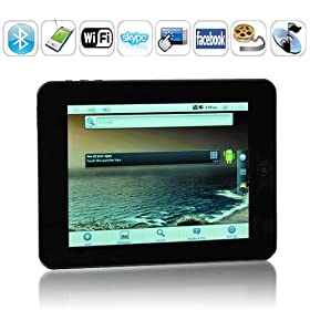 8 Inch Touchscreen Android 2.2 Tablet Pc with Skype, Wifi,3g