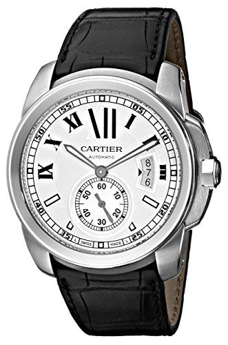 CARTIER CALIBRE DE CARTIER W7100037 GENTS STAINLESS STEEL CASE AUTOMATIC WATCH