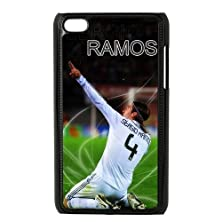 buy Print Football Player Football Player Sergio Ramos Cool Man Pictures Cool Man Pictures Design Hard Plastic Case Pc Shell For Ipod Touch 4 Tpu Case-3