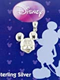 Disney Mickey Mouse Head Sterling Silver Charm