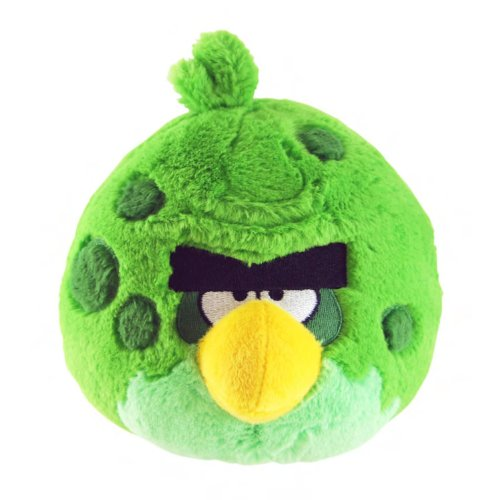 Angry Birds Space 5-Inch Green Bird with Sound - 1