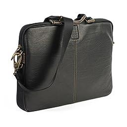 Boconi Bags and Leather Hendrix - Sleeve Brief Laptop Bag Oldwood Black