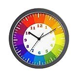 cute color wheel Wall Clock