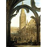 South view of Salisbury Cathedral, by J.M.W. Turner (V&A Custom Print)