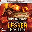 Brimstone Angels: Lesser Evils: A Forgotten Realms Novel Audiobook by Erin M. Evans Narrated by Dina Pearlman